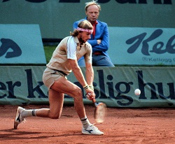 Bjorn Borg two-handed backhand