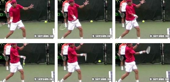 Tommy Haas Forehand