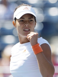 Ana Ivanovic encouraging and being positive