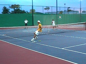 Tennis physical training