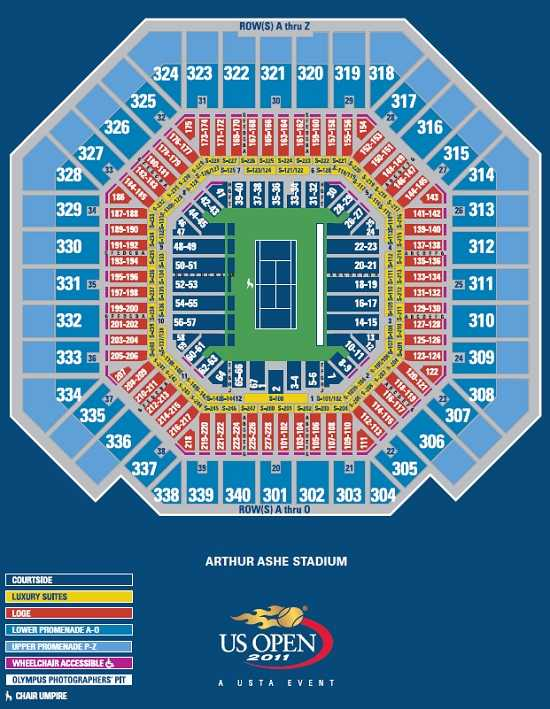 Us open tennis tournament guide buying tickets best seats and